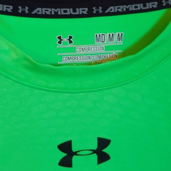 Under Armour Other - Bright green Under Armour shirt